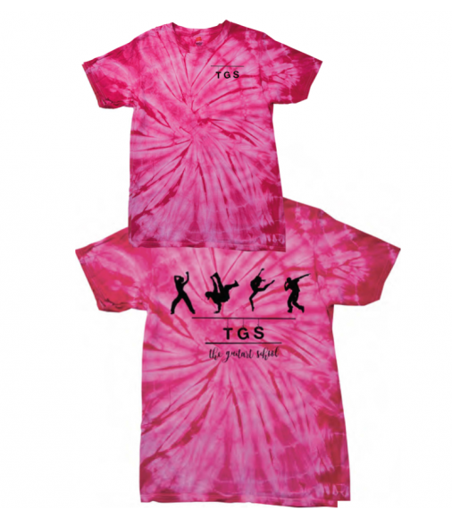 Limited Edition TGS Adults Spider Tie Dye T-shirt